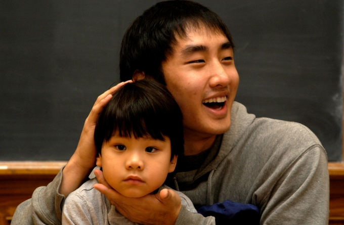Korean Father and Son