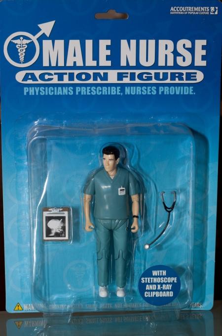 Male Nurse Action Figure