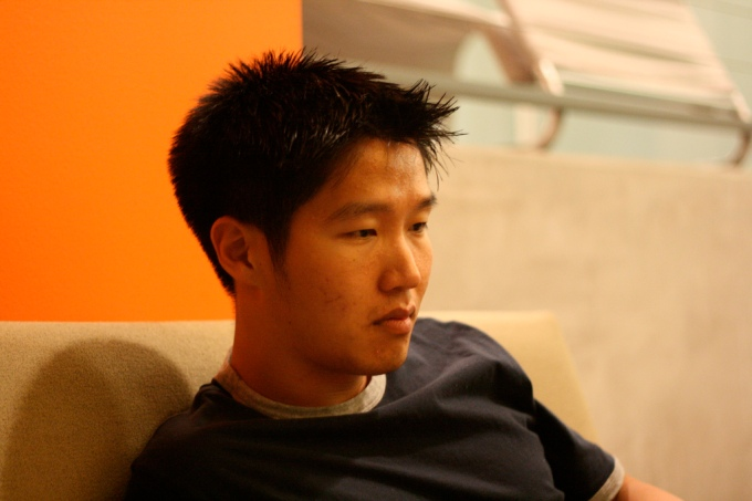 Young Korean Man