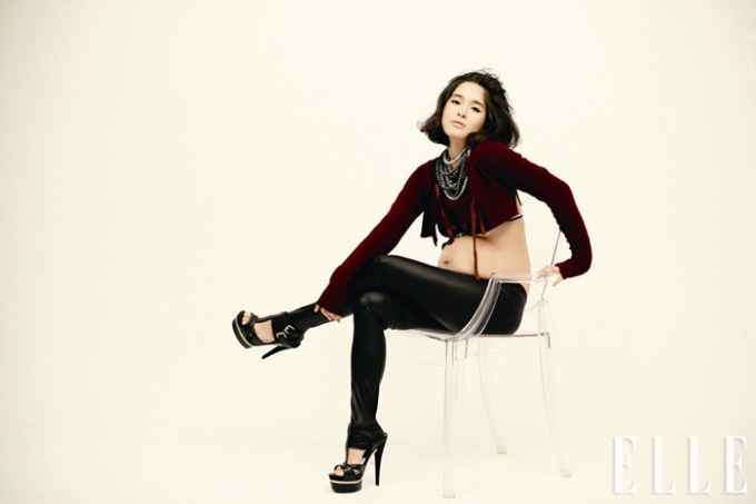 jung hye-young uncomfortable pregnancy D-line