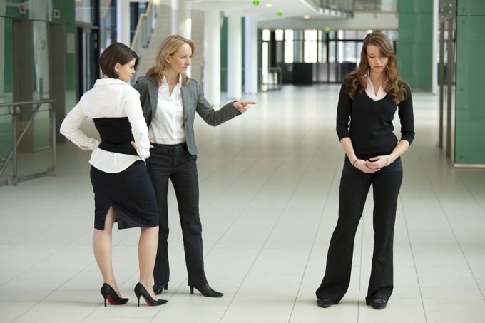 Women bullying women