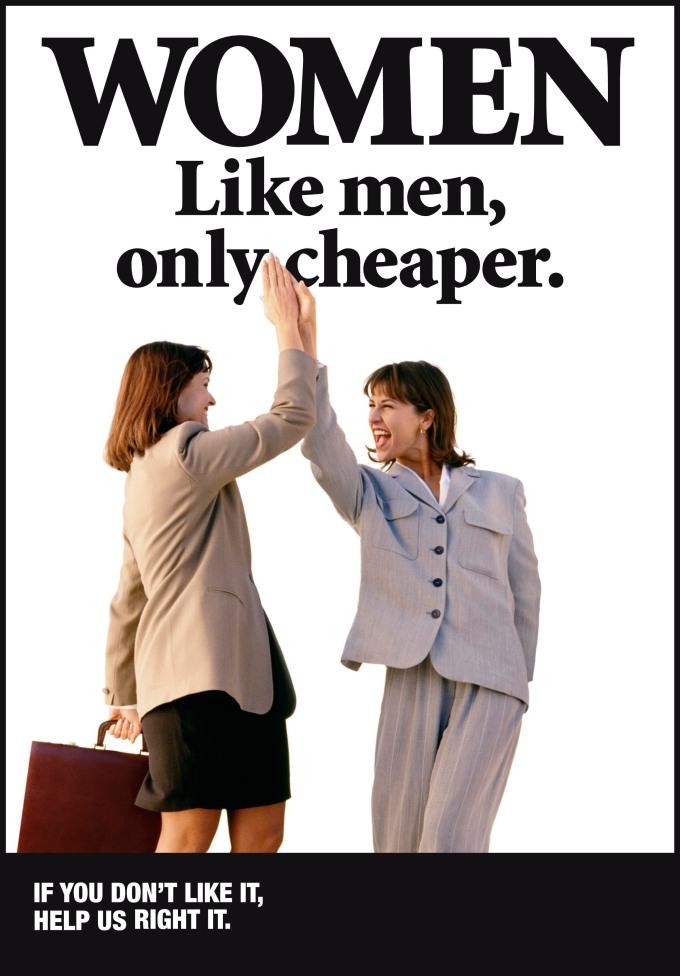 Women Like Men Only Cheaper