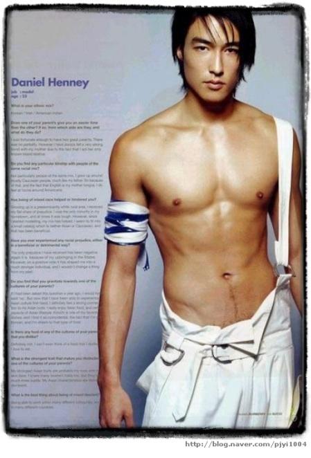 Daniel Henney Abs