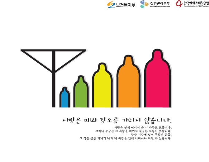 Korean AIDS HIV Poster