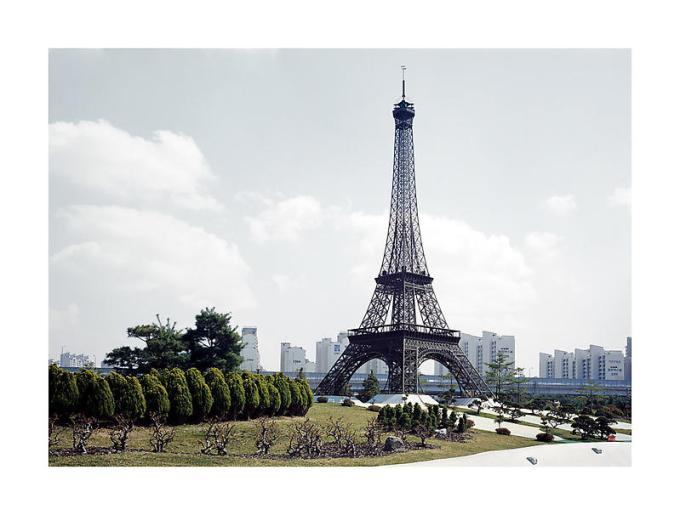 Back Seung Woo Eiffel Tower