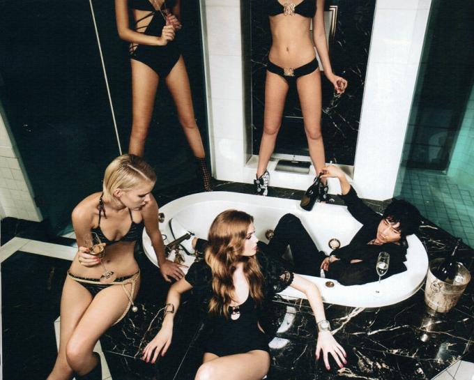 Kang Ji-hwan Esquire Korea July 2009 Bikinis
