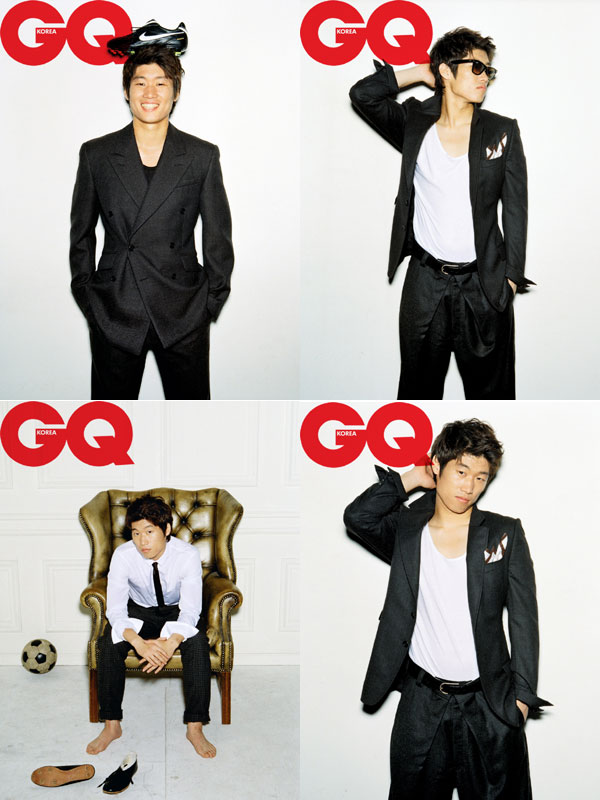 Park Ji-sung Gentlemen's Quarterly
