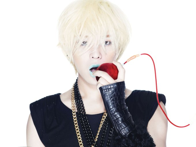 G-Dragon Big Bang Blonde