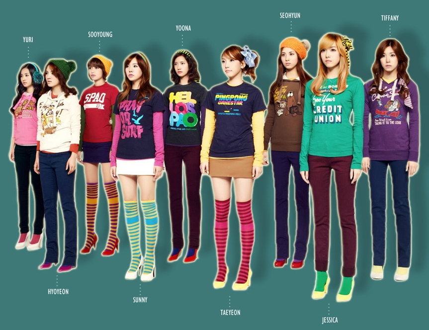 Girls Generation Cartoon. Girls Generation Fakes. and