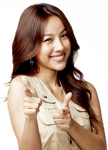 Hair brown hyori lee