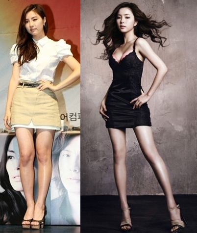 Asian celebrity legs can
