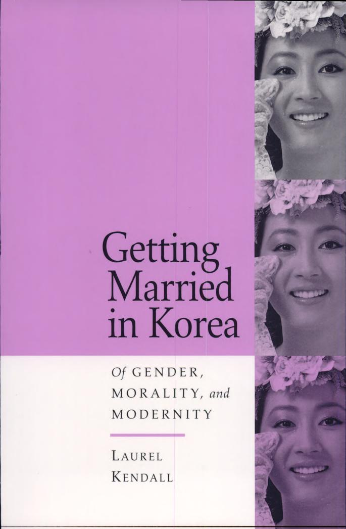 Getting Married in Korea Cover