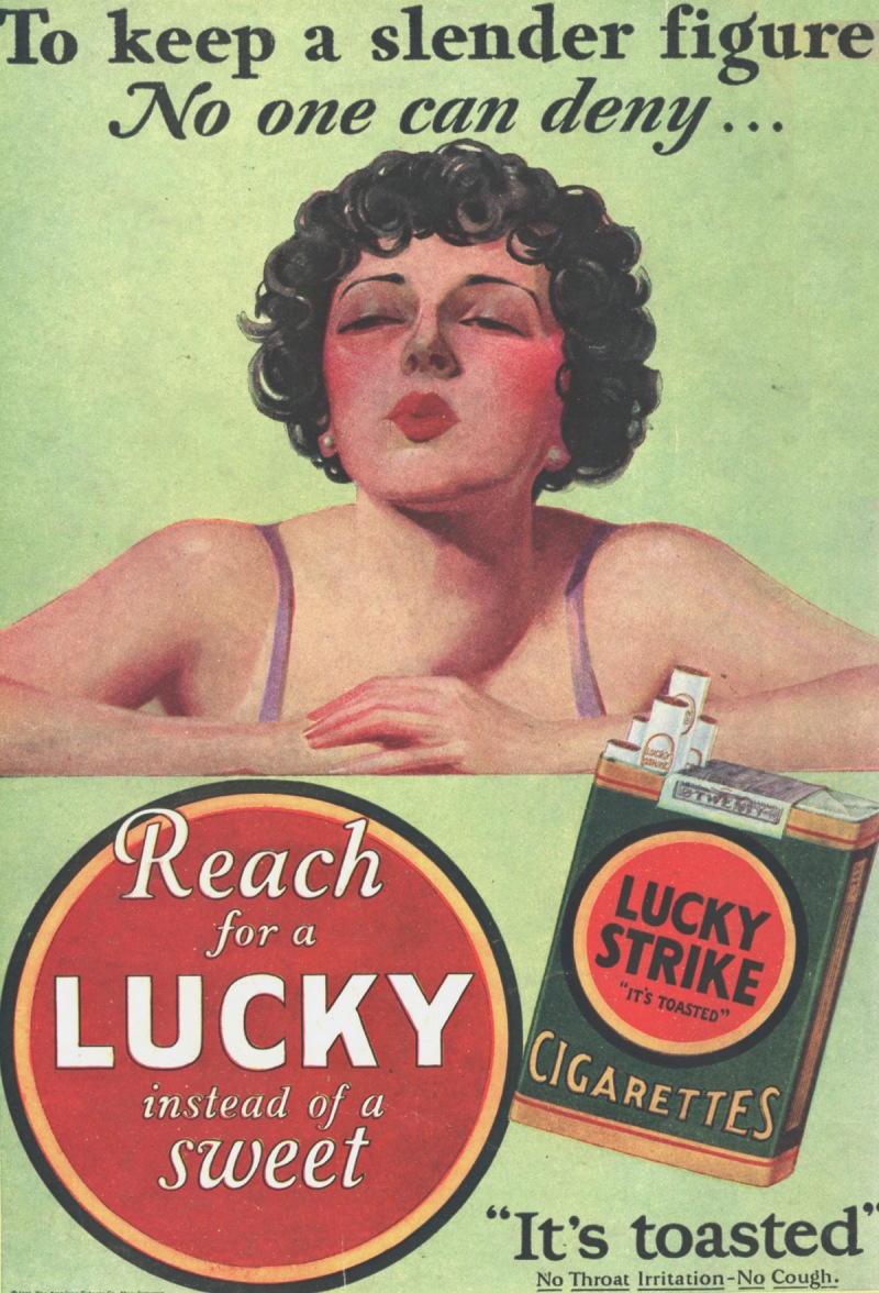 Slender Figure Lucky Strike