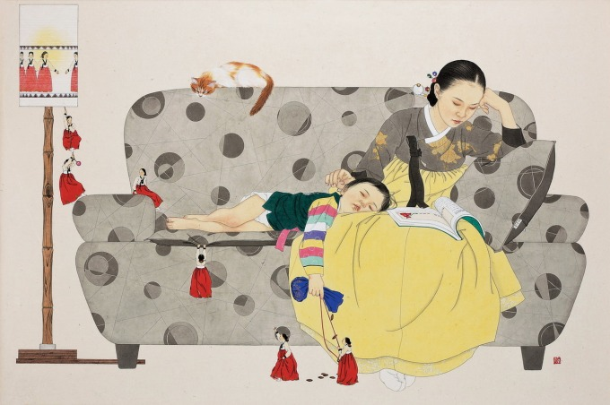 While You Were Sleeping 10, 2011, by Shin Sun Mi