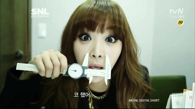 SNL Korea Plastic Face 3