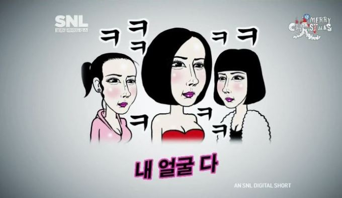 SNL Korea Plastic Face 6