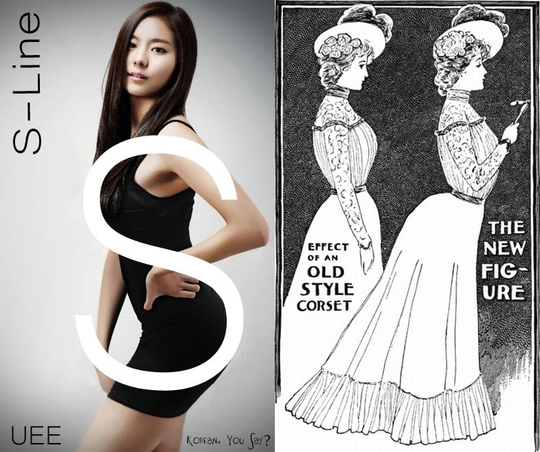All clear, Korean girl nude corset were