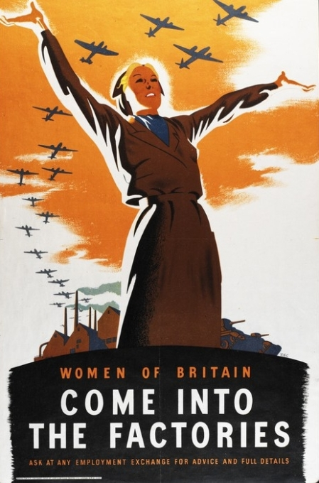 Women of Britain Come into the factories