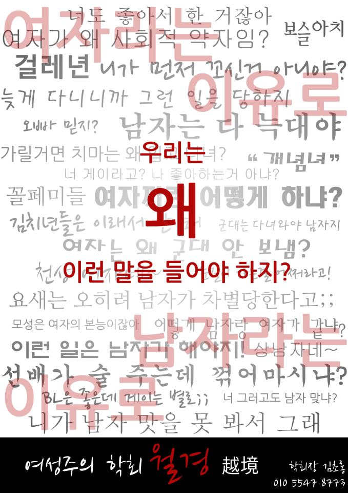 Korean Gender Discrimination Language