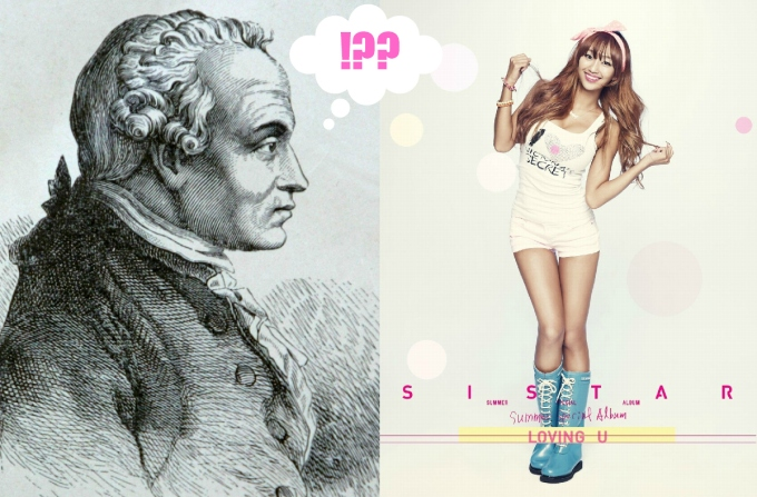 Immanuel Kant ponders objectification in K-pop