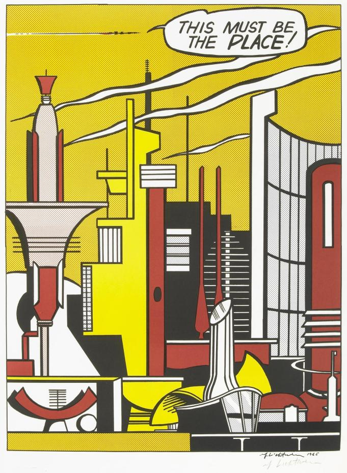 This Must be the Place, Roy Lichtenstein, 1965