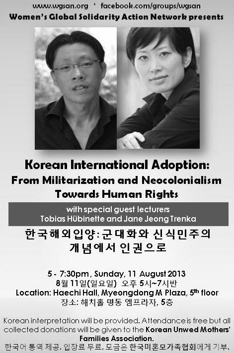Korean International Adoption From Militarization and Neocolonialism Towards Human Rights