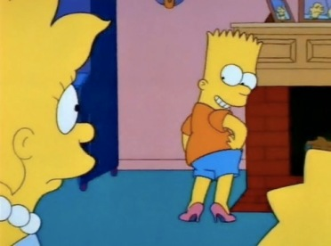 Bart in Heels