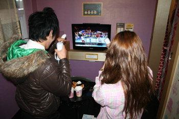 Korean Room Cafe Teen Couple