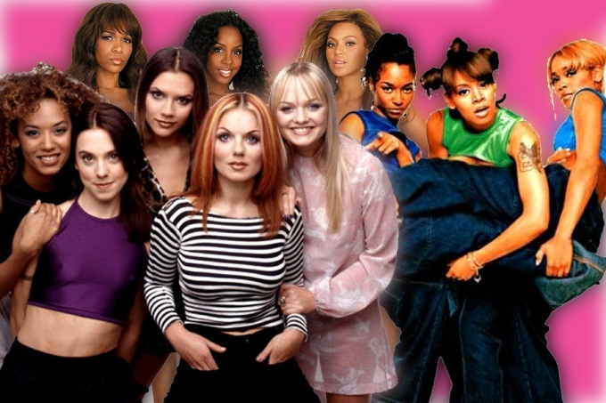 Destiny's Child, Spice Girls, TLC