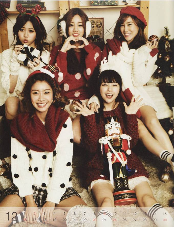 Girl's Day Christmas 2012
