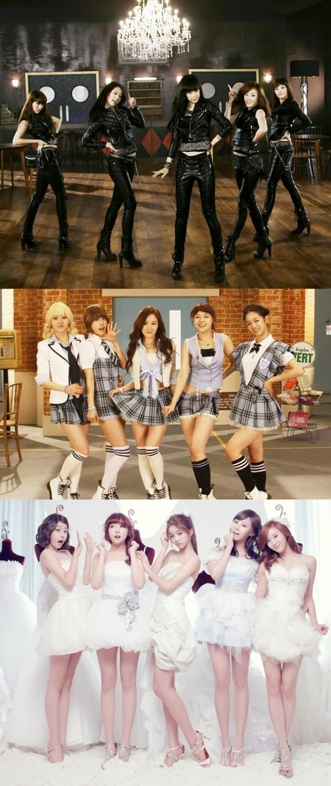 Girl's Day Lolita Transformation