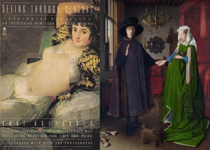 Seeing Through Clothes and Arnolfini Portrait