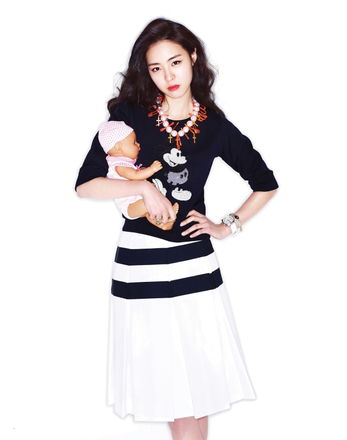 Park Shin-hye and Doll
