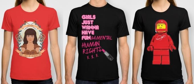society6 t-shirts