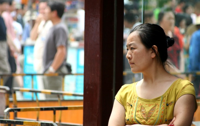Chinese Woman in Shanghai