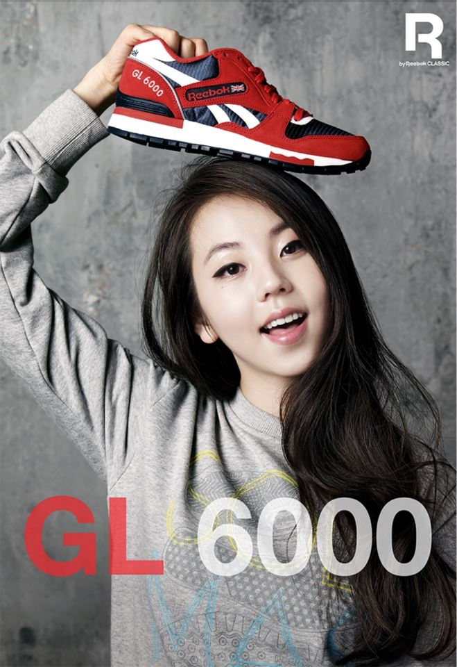 Wondergirls So-hee Reebok Shoe on Head
