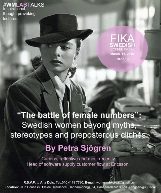 Swedish Women. FIKA. #WMLABTALK