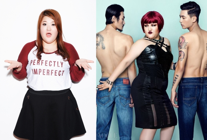 Lee Gook-joo positive body image role model korea