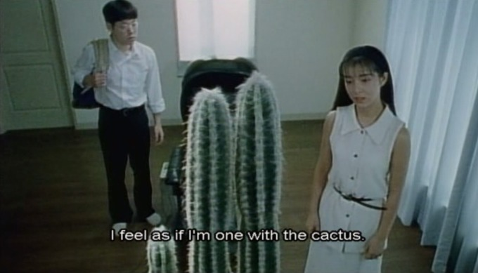 I feel as if I'm one with the cactus